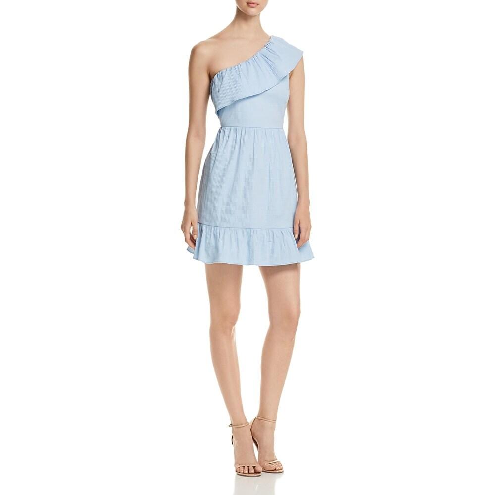 Vero Moda Womens Vmisa Mini Dress One Shoulder A-Line