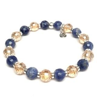 """Blue Sodalite Layla 7"""" Bracelet"""