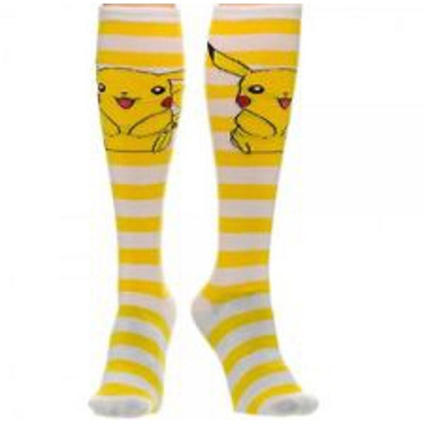 Pokemon Pikachu Knee High Socks - Yellow
