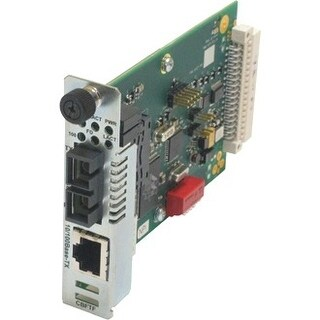 """Transition Networks CBFTF1013-105 Transition Networks 10/100 Bridging 10/100Base-TX to 100Base-FX Media Converter - 1 x RJ-45 ,"