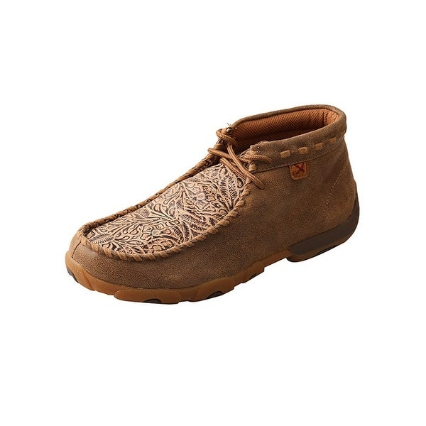 Twisted X Casual Shoes Womens Print Red Buckle Brown Nude