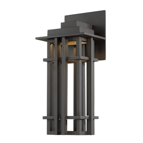 """WAC Lighting WS-W26716 Nest Single Light 16"""" High Integrated LED Outdoor Wall Sconce"""