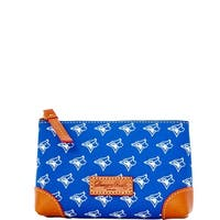 Dooney & Bourke MLB Bluejays Cosmetic Case (Introduced by Dooney & Bourke at $48 in Mar 2015)
