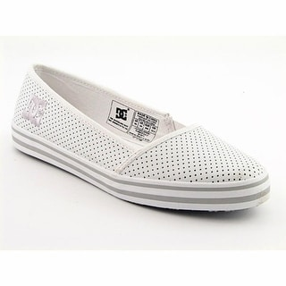 DC Shoes Venice Women W Round Toe Leather Loafer