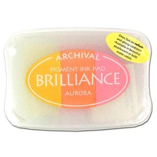 Brilliance Craft Ink Pad Large 3/Color Aurora