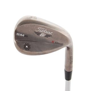 Titleist Vokey Steel Gray SM6 Wedge 58.10* S-Grind Uniflex Steel RH