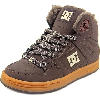 DC Shoes Rebound Wnt Round Toe Leather Sneakers