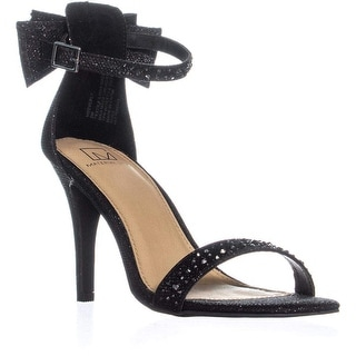 Zigi Soho Womens Beatha Fabric Open Toe Special Occasion Ankle Strap Sandals