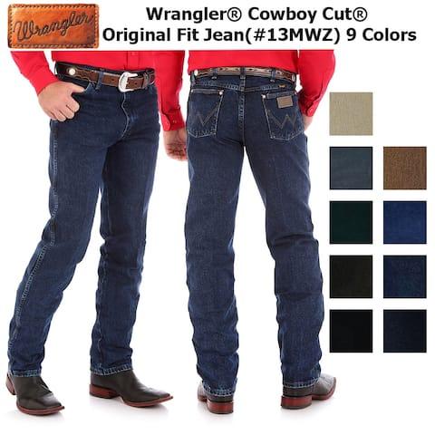 Wrangler Men's Cowboy Cut Original Fit Jeans