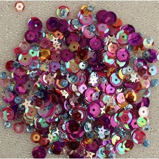 28 Lilac Lane Tin W/Sequins 40G-Mixed Berry