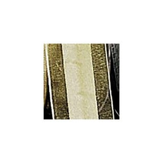 """Soft Pine Colored Satin Center Organdy Margaritte Craft Ribbon 1"""" x 60 yards"""