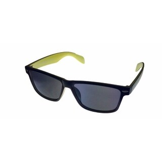 Perry Ellis Mens Plastic Sunglasses Black 2 Tone PE27-4, Includes Perry Ellis Pouch, 100% UV Protection