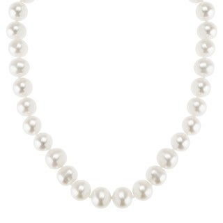 Honora 8-9 mm Freshwater Pearl Classic Strand Necklace in 10K Gold