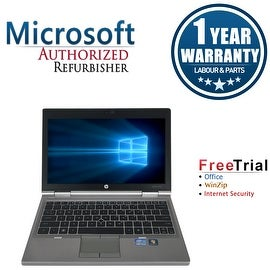 "Refurbished HP EliteBook 2570P 12.5"" Laptop Intel Core i5-3210M 2.5G 8G DDR3 500G DVDRW Win 10 Pro 1 Year Warranty"