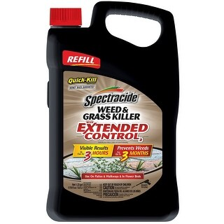 Spectracide HG-96396 Weed & Grass Killer with Extended Control Refill, 1.33 Gallon