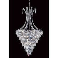 Mantra Lighting 2479 Misc 8 Light Single Tier Crystal Chandelier