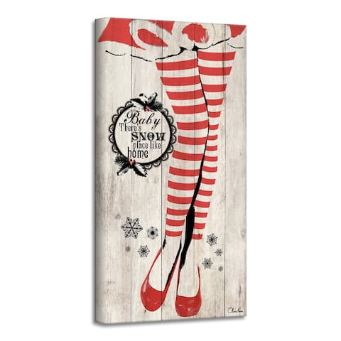 Ready2HangArt 'Snow Place' Holiday Canvas Wall Art by Olivia Rose