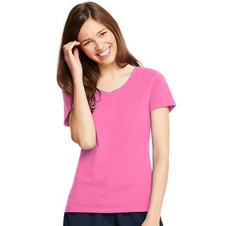 Hanes Women's X-Temp V-Neck T-Shirt