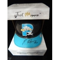 Signed Ozuna Pablo Portland Seadogs Just Minors Portland Seadogs Mini Helmet autographed