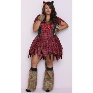 Plus Size Frisky Werewolf Costume, Hoty Werewolf Costume