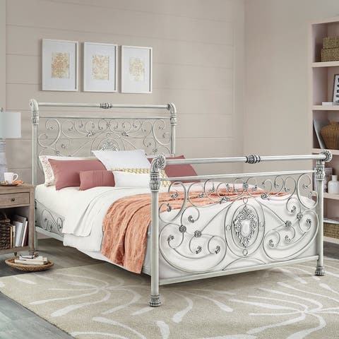 Gracewood Hollow Zine Metal Bed Set
