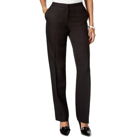 Tommy Hilfiger Womens Flat-Front Dress Pants Stretch