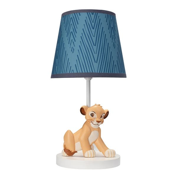 Disney Baby Lion King Adventure Simba Nursery Lamp With