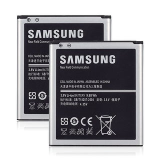 Replacement Samsung B600Bu Battery for Galaxy S4 Active AT&T / i9500 Phone Models (2 Pack)