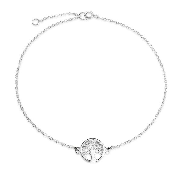 925 Sterling Silver Sea Turtle Adjustable Teen Or Children Length Anklet Fashion Jewelry