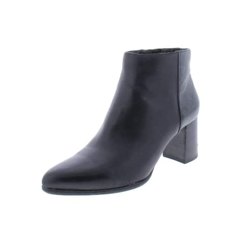 Rockport Womens Lynix Booties Leather Ankle