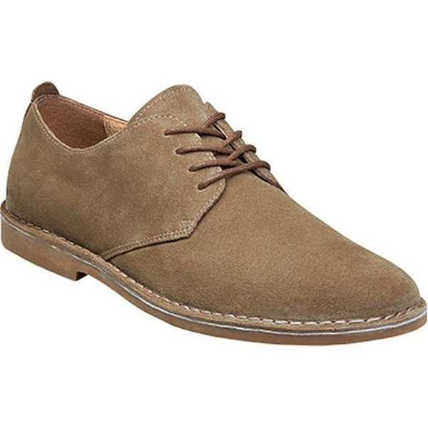 3777a4f3ae85d Shop Nunn Bush Men s Gordy Plain Toe Oxford Beige Suede - Free Shipping  Today - Overstock - 14298137