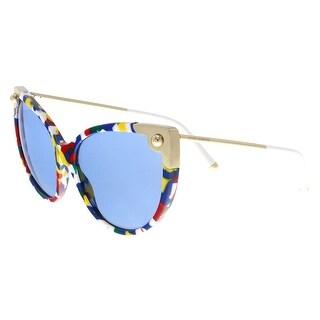 Dolce & Gabbana DG4337 318172 Multicolor Cat Eye Sunglasses - Multi - no size