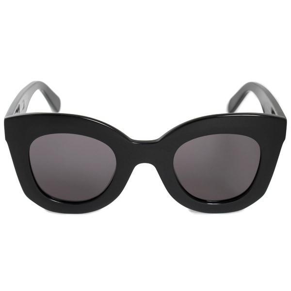 1a9160008c Shop Celine Marta Round Sunglasses 41093S 807 BN 46 - Free Shipping ...