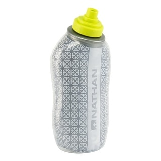 Nathan Sports SpeedDraw Insulated Hydration Flask with Sulfur nozzle - 18oz - NS4005 - Silver