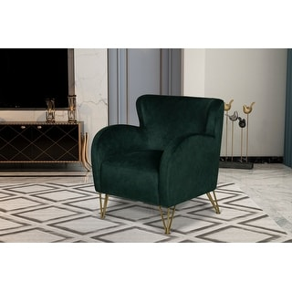 Link to Ellsworth Wingback Accent  Chair Similar Items in Living Room Chairs