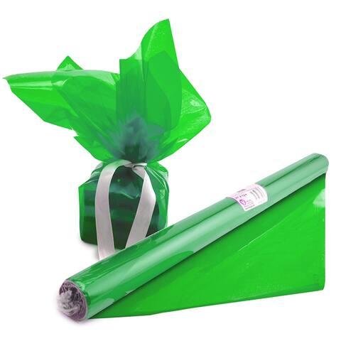 "Cello-Wrap Roll, Green, 20"" x 12.5', 6 Rolls"