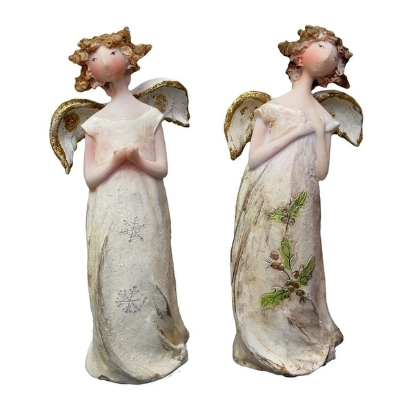Christmas Angel Ornament Set of 2. Opens flyout.