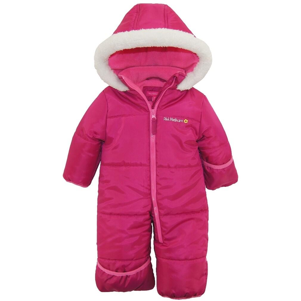 Pink Platinum Baby Girls Anorak Jacket