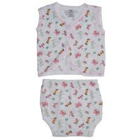 Bambini Diaper Shirt & Panty - Size - Medium - Girl