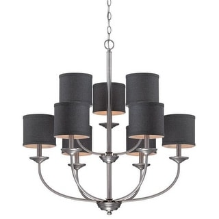 Millennium Lighting 3119 Jackson 9 Light 2 Tier Chandelier