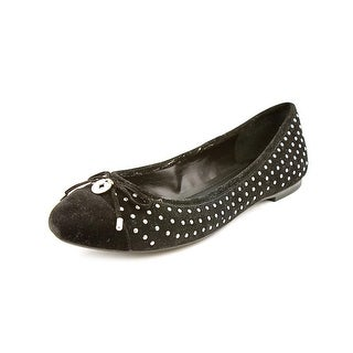 BCBGeneration Wallee Round Toe Synthetic Flats