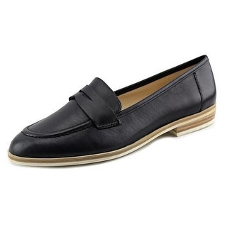 Nine West Antonecia Round Toe Leather Loafer