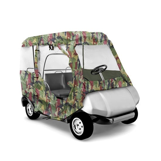 Armor Shield Yamaha Golf Cart Protective Storage Enclosure Cover, Fits Yamaha Drive® 2009 and 2010 Models (Camo Color)