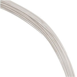 1 Ounce (48 Ft) Sterling Silver Wire 24 Gauge - Round/Dead Soft