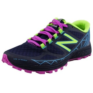 New Balance WTSU Women D Round Toe Synthetic Black Trail Running