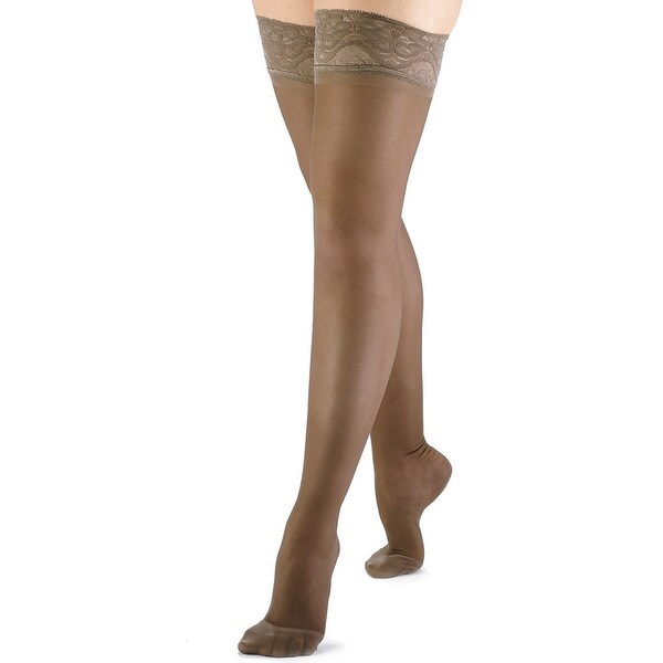 25837c24b Shop Women s Firm Support Compression Thigh High Stockings - On Sale - Free  Shipping On Orders Over  45 - Overstock - 16293249