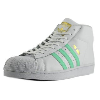 Adidas Pro Model   Round Toe Leather  Sneakers