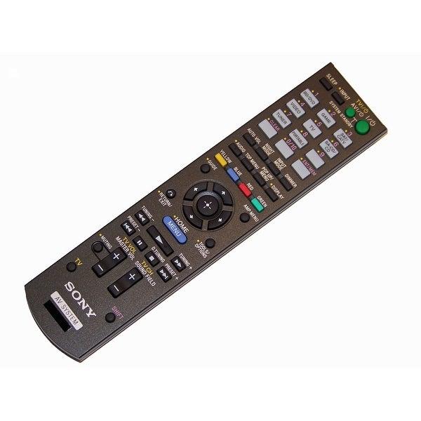 OEM Sony Remote Control Originally Shipped With: STRDH520, STR-DH520