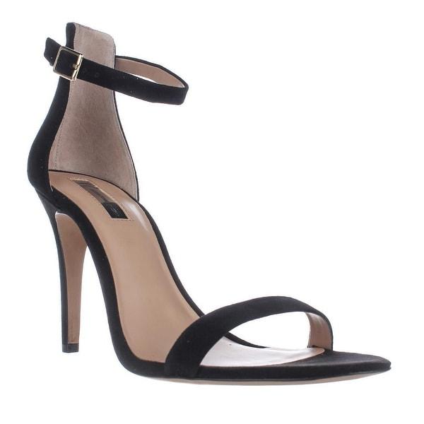 I35 Roriee Ankle Strap Dress Sandals, Black
