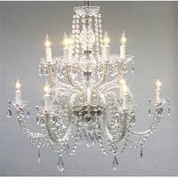 Crystal Chandelier Lighting H27 x W32